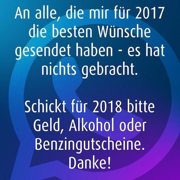 WhatsApp und Co: Die besten Neujahrssprüche zu Silvester 2017