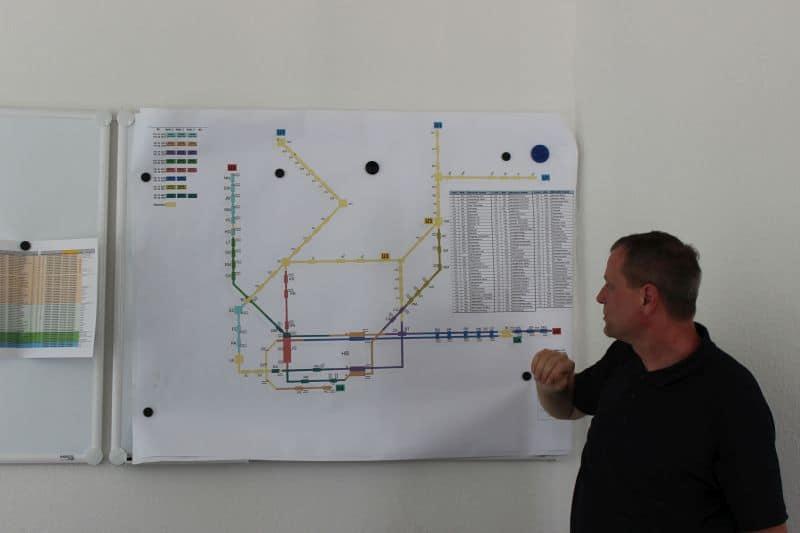 Die Netzplanung der Hamburger U-Bahn