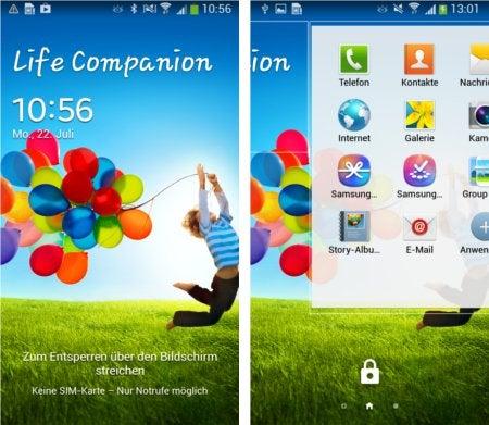 Die Samsung-Nutzeroberfläche TouchWiz im Überblick