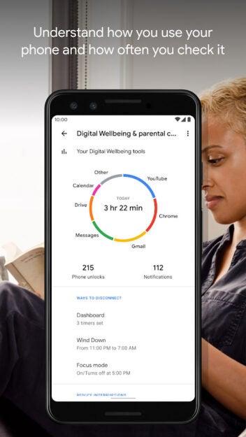Digital Wellbeing App