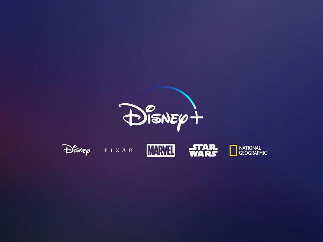 Logo von Disney+ und Disney-Marken