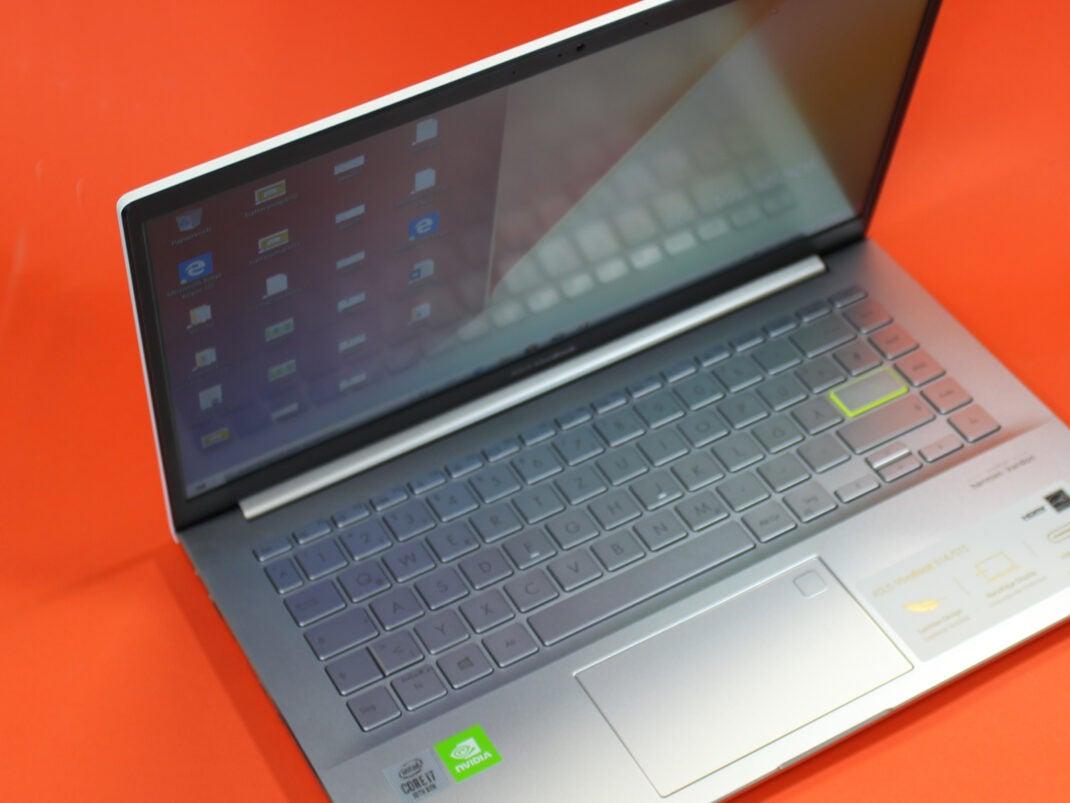 Tastatur des ASUS Vivobook S14