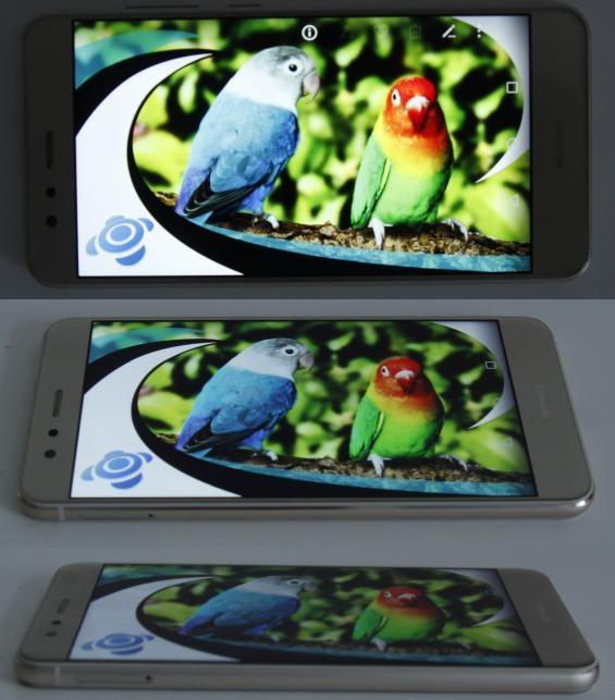 Displayeinstellungen und -eigenschaften des Huawei P10 lite