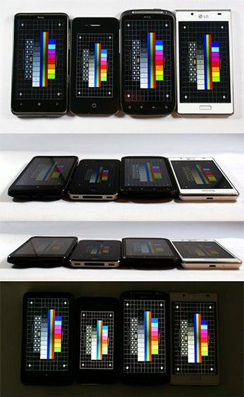 Display-Vergleich TFT, LCD, Retina, Nova