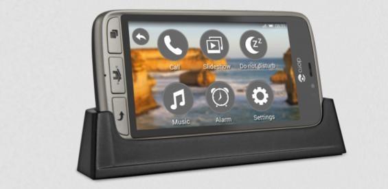 Doro 8031 (8031) Smartphone in Ladestation