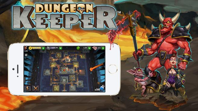 """""""Dungeon Keeper"""" für Smartphones und Tablets"""