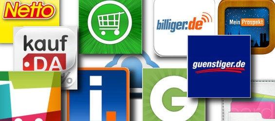 Einkaufs-Apps