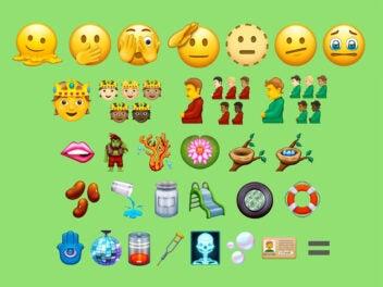 Einige der Vorschläge für Emoji 14.0