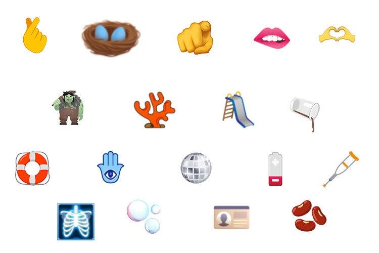 Neue Emojis für 2022