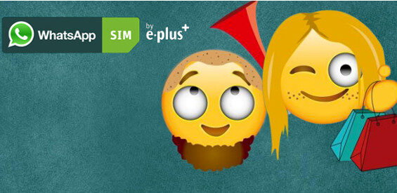 Emoticon-Creator E-Plus Gruppe WhatsApp SIM