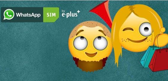 Emoticon-Creator E-Plus Gruppe WhatsApp SIM