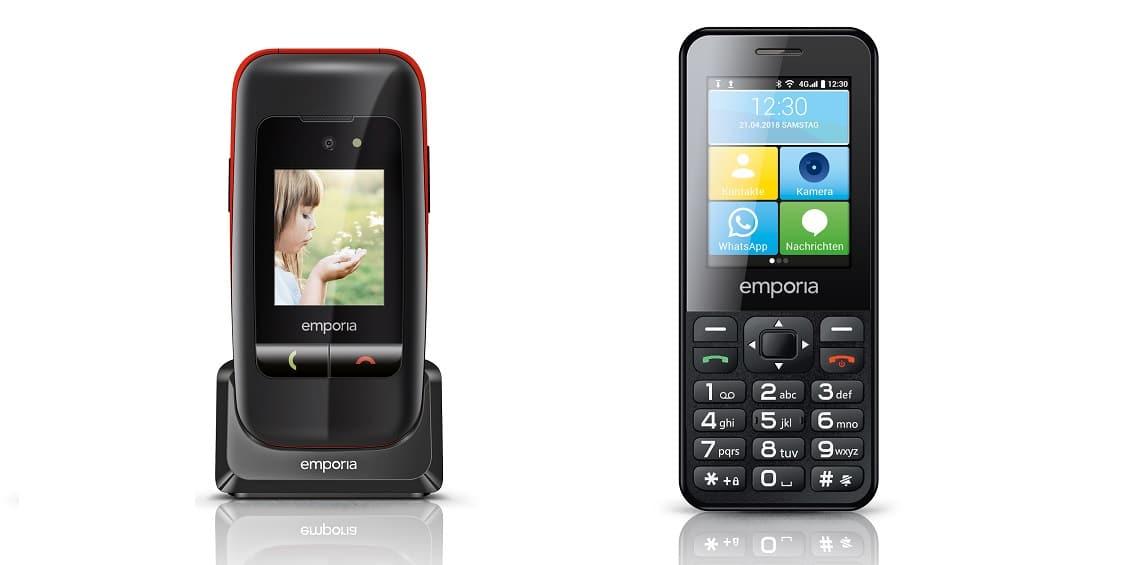 Emporia-Handys vorgestellt