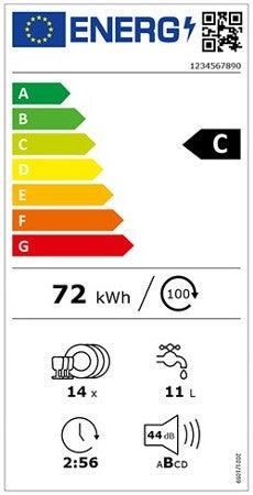 Energielabel für Geschirrspüler