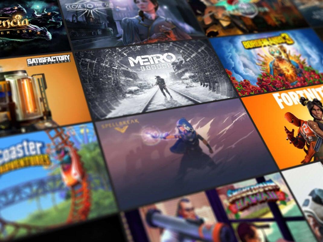 Viele Spiele Logos.