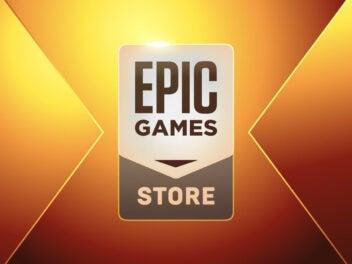 Das Logo des Epic Games Store.
