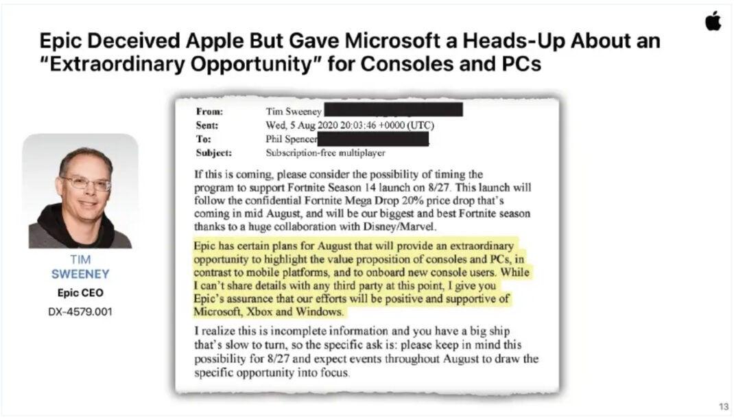 Surat dari CEO Epic Tim Sweeney