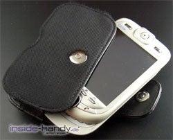 E-Plus PDA 3 (Qtek 9090): Gerät mit Tasche