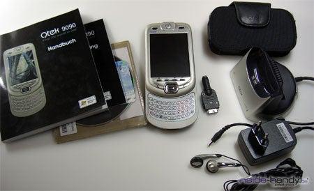 E-Plus PDA 3 (Qtek 9090): Lieferumfang