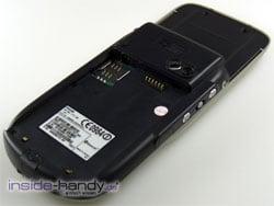 E-Plus PDA 3 (Qtek 9090): Rückseite