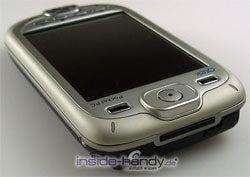 E-Plus PDA 3 (Qtek 9090): seitliche Oberseite