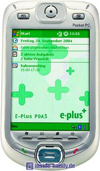E-Plus PDA 3 Datenblatt - Foto des E-Plus PDA 3