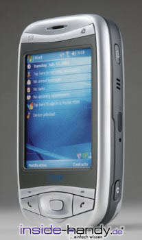 E-Plus Pocket PDA Datenblatt - Foto des E-Plus Pocket PDA