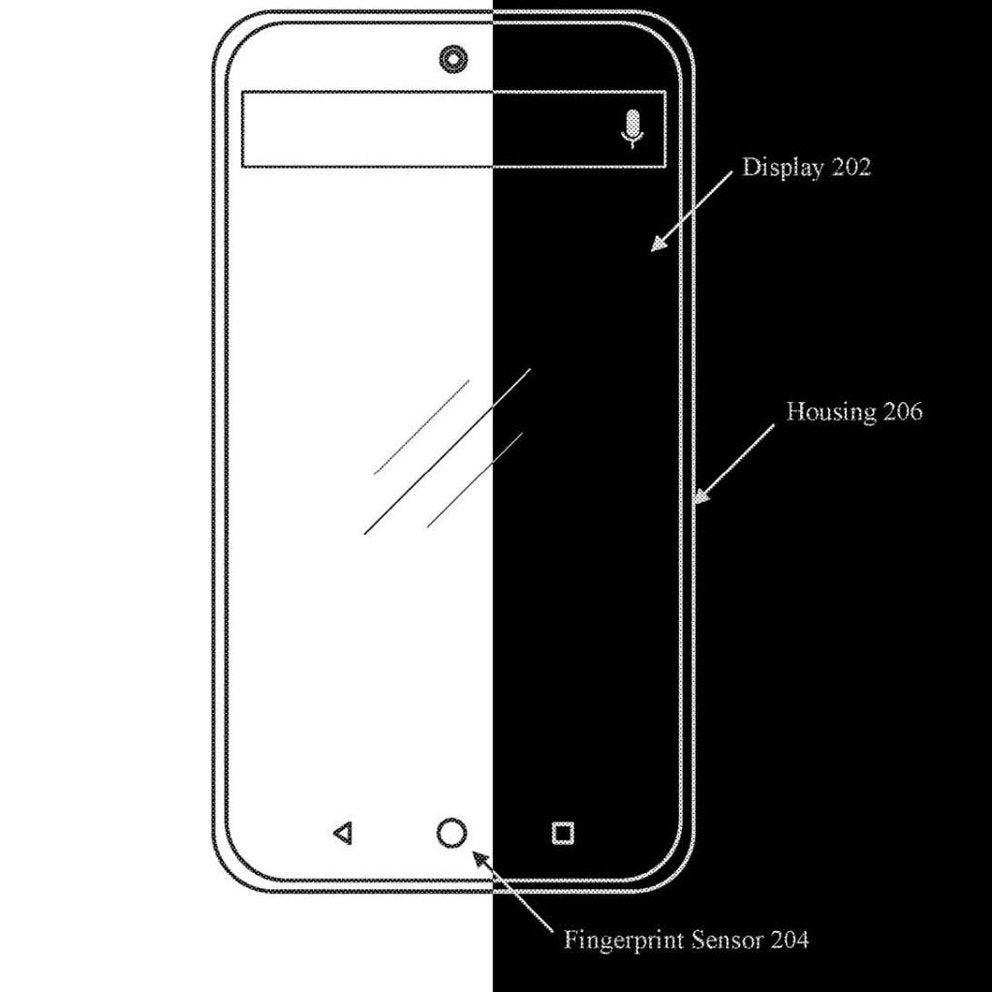 Skizze des Essential Phone 2