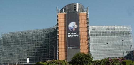 Der Sitz der EU-Kommission