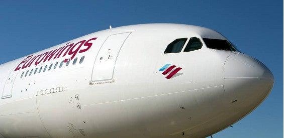 Ein A330 von Eurowings.