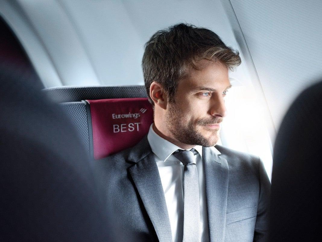 Eurowings Passagier
