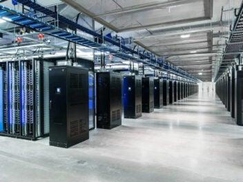 Serverfarm von Facebook
