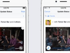 Facebook-Update für iOS-App