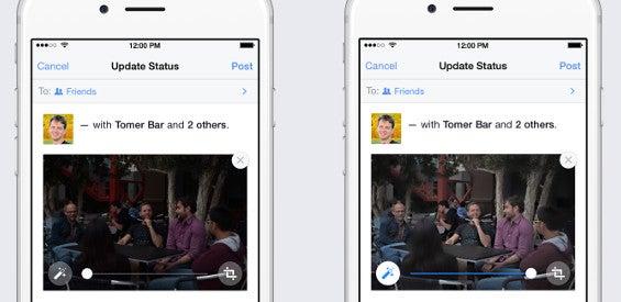 Facebook-Update für iOS-App