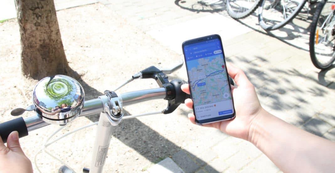 Fahrrad-Apps Symbolbild