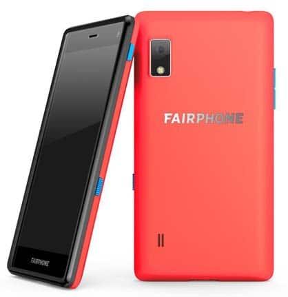 Fairphone 2 Slim Korall