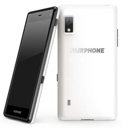 Fairphone 2 Slim Weiß