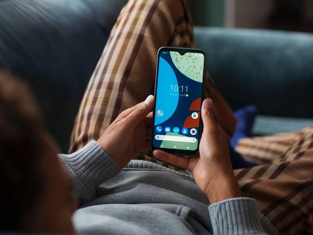 Der Bildschirm des Fairphone 4