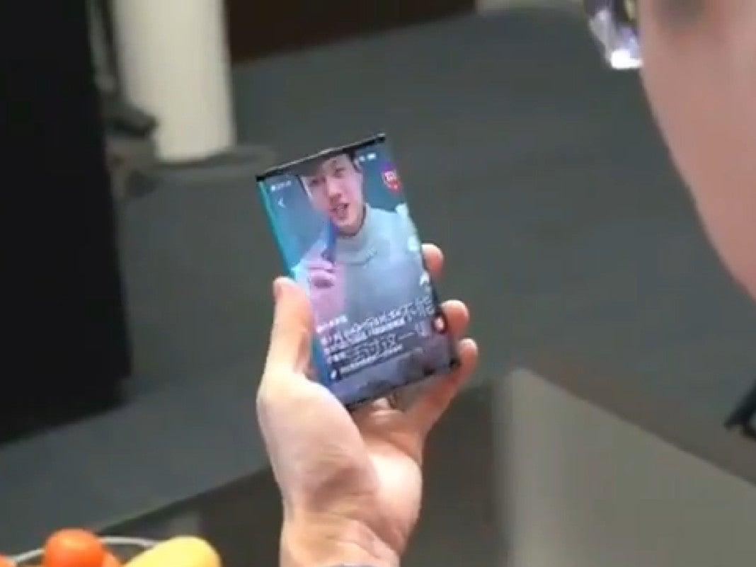Das faltbare Smartphone von Xiaomi im Video