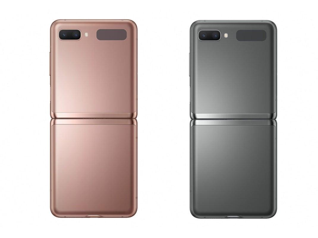 Farben des Samsung Galaxy Z Flip 5G