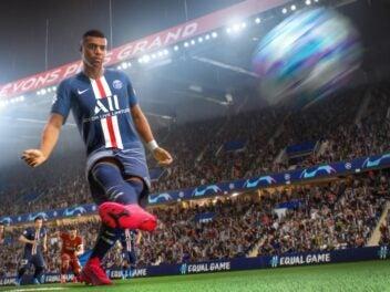 Kylian Mbappé im FIFA 21 Screenshot