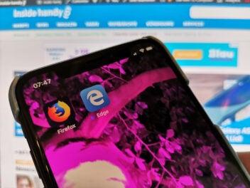 Firefox und Edge App auf iPhone