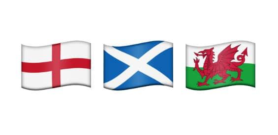 Emojipedia: Regionale Flaggen