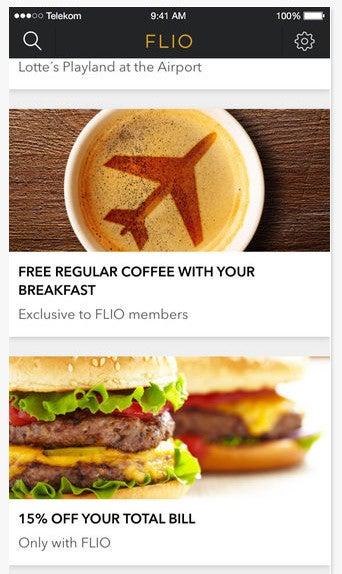Flio Flughafen App