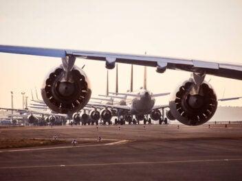 Flugzeuge nach Grounding