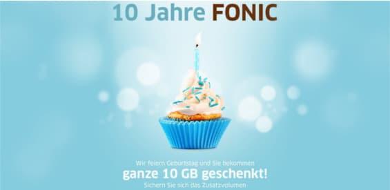 Fonic 10 Jahre Geburtstag