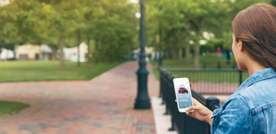 Ford SYNC Technologie auf dem Smartphone