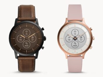 Fossil-Smartwatch: Hybrid HR