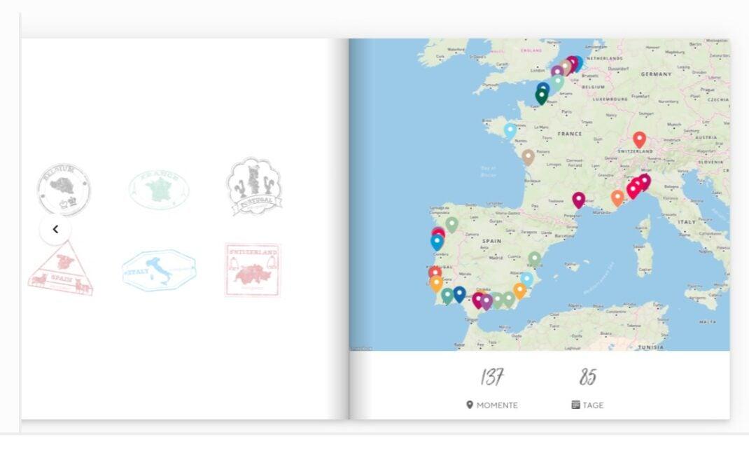 Journi erkennt GPS-Daten und erstellt Karten
