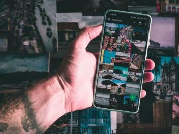 Fotos auf einem Smartphone über WhatsApp und Google Drive sichern