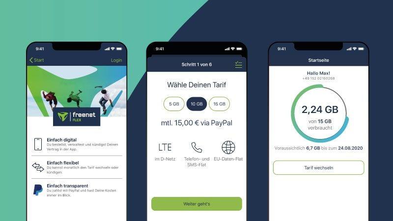 Freenet Flex App
